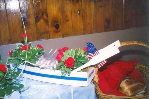 Boat Centerpiece